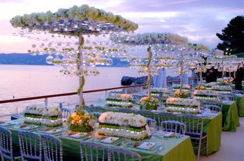 Mariage de Dana & Mazen à l'Eden Roc le 03 Septembre 2007, Cap d' Antibes, Agence CMX.