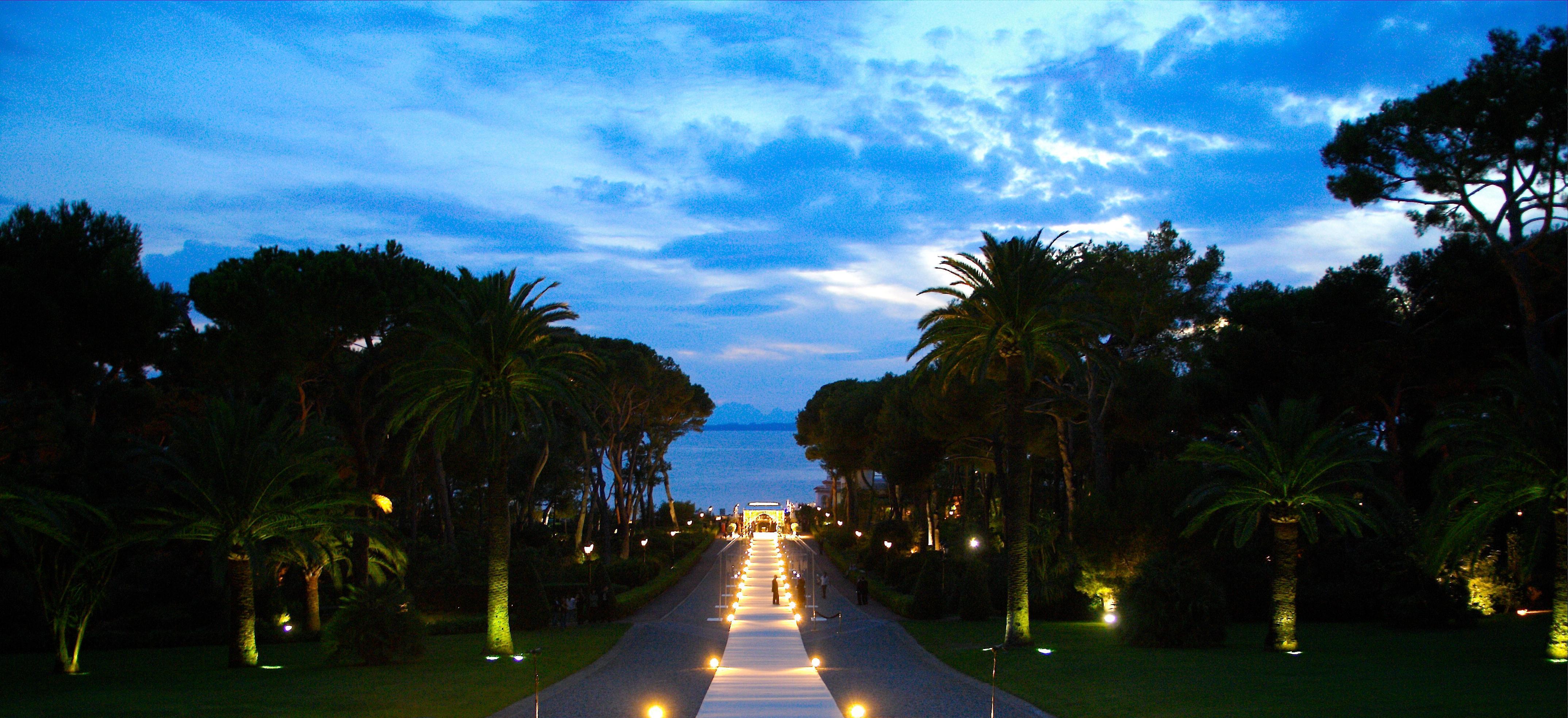 mariage de dana mazen leden roc le 03 septembre 2007 cap - Palm Beach Cannes Mariage