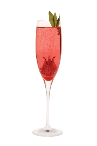 Kir Royal Champagne Cocktail