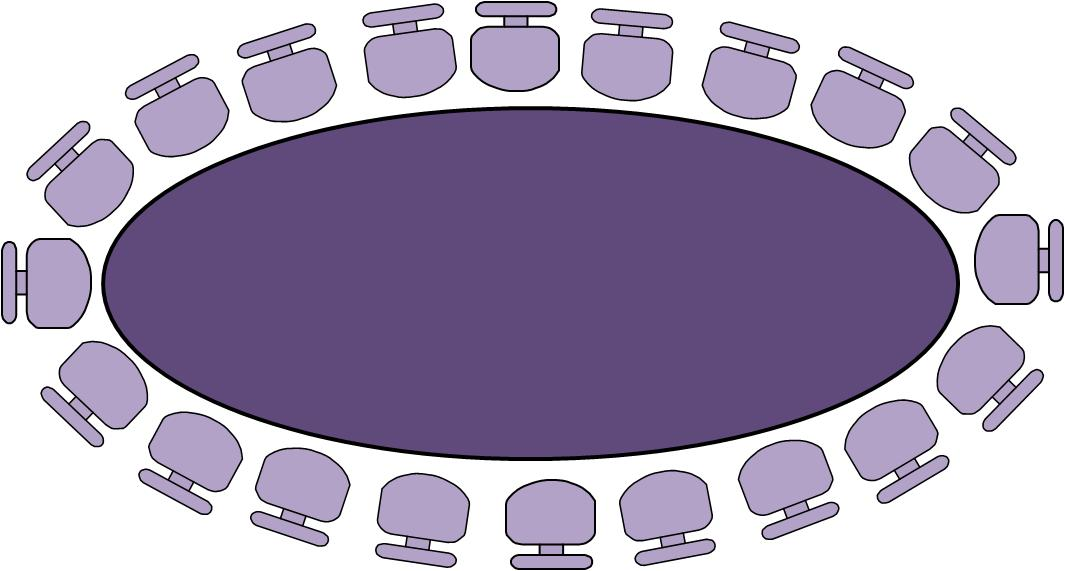 Round table seating chart template
