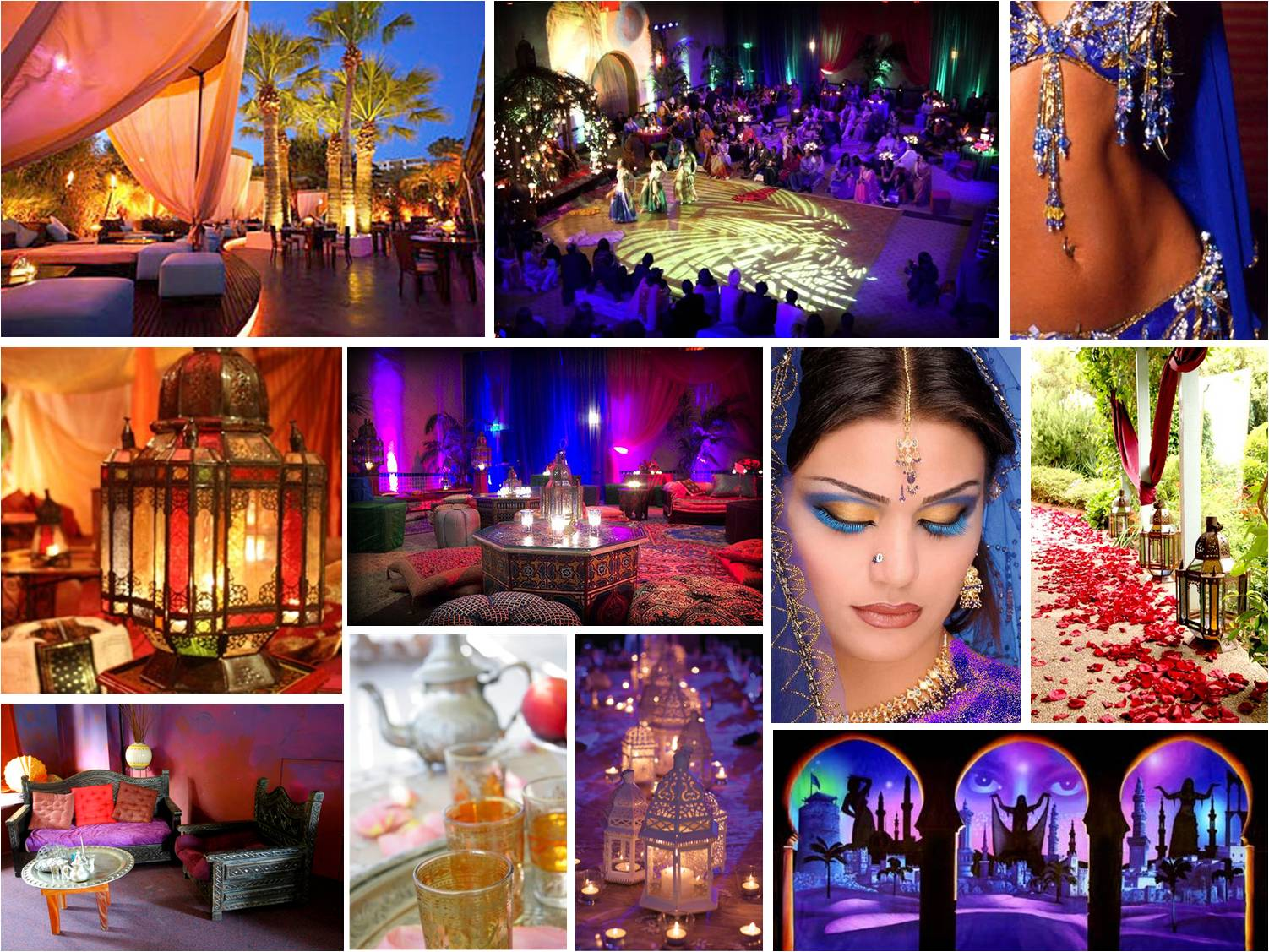 Wedding theme ideas arabian nights