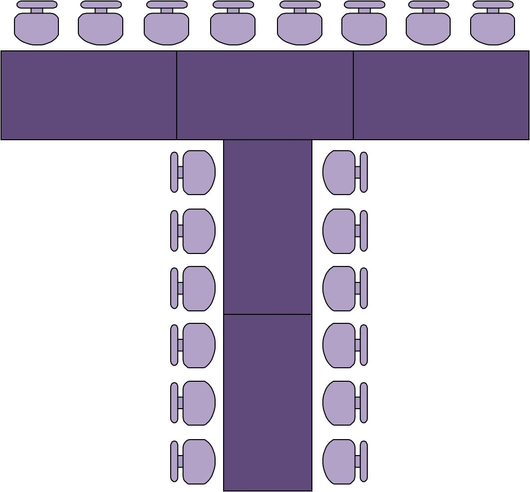 Wedding Table Seating Plans My Riviera Wedding - T shaped conference table