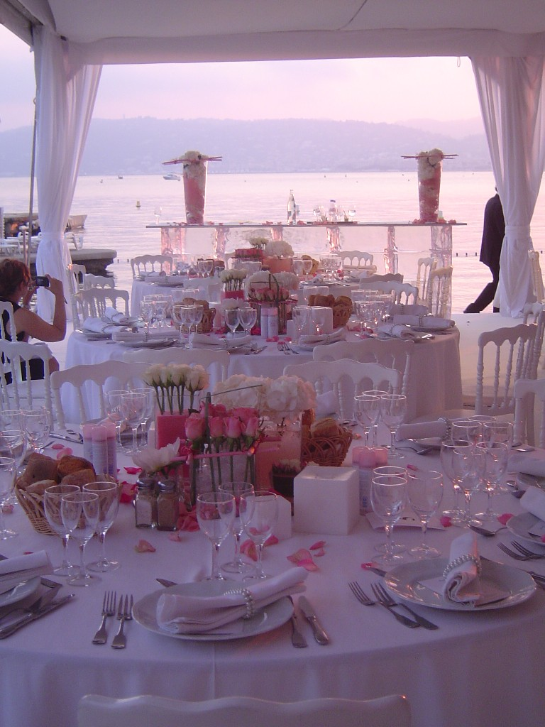 wedding at the belles rives hotel - Palm Beach Cannes Mariage